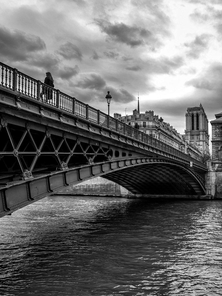 Paris - pont d'arcole