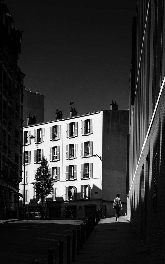 Paris - le long du canal de l'ourcq
